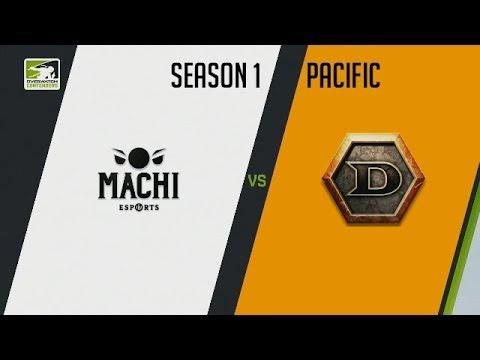 Machi Esports vs DeToNator.KOREA (Part 1) | OWC 2018 Season 1: Pacific