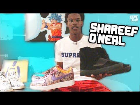 Shareef O'Neal's Insane SHOE COLLECTION!