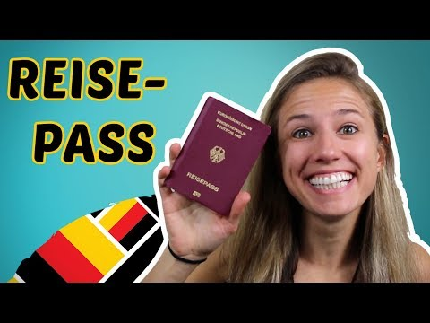 German TRAVEL Vocabulary - I am flying to Africa! ✈️✈️✈️