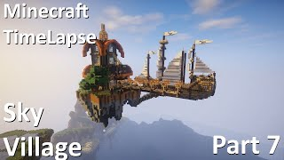 Minecraft TimeLapse - Sky Village. Part 7