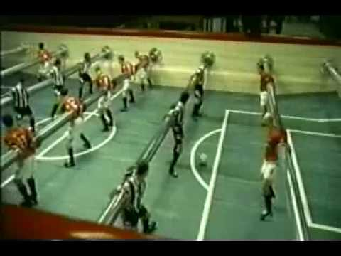 Pepsi Commercial David Beckham - human foosball