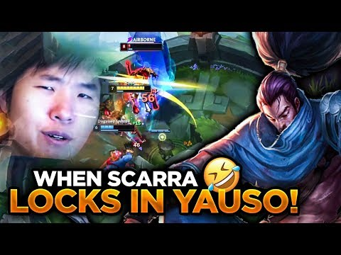 SCARRA'S ONCE IN A YEAR YASUO PICK! W/ Disguised Toast | LoL | League Of Legends