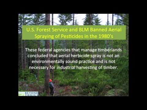 Part I: Panel and Dialogue on the Practice of Aerial Spraying on Timber Property