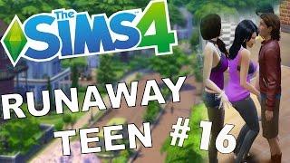 A THREESOME   Sims 4   Runaway Teen Challenge #16