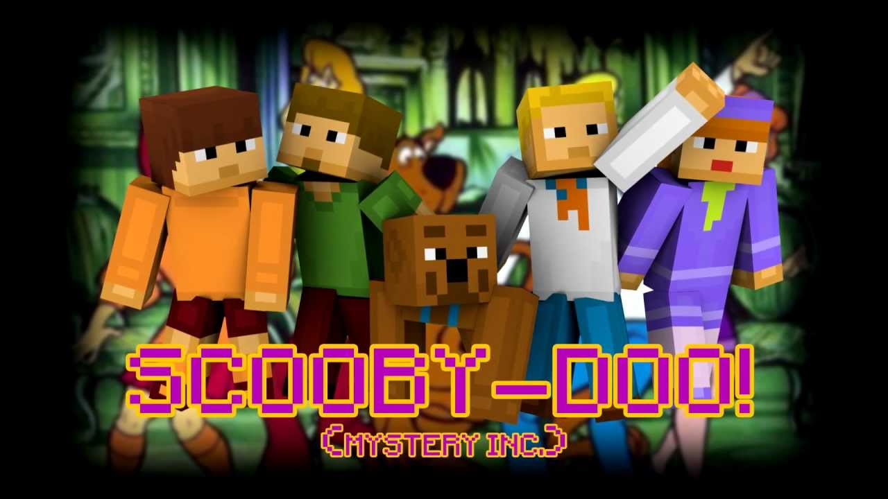 Random Minecraft Skin - Scooby-Doo! (Mystery Inc.) - YouTube