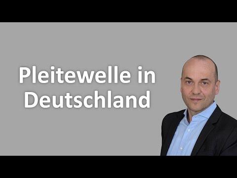 Pleitewelle in Deutschland - Das solltest du jetzt tun!