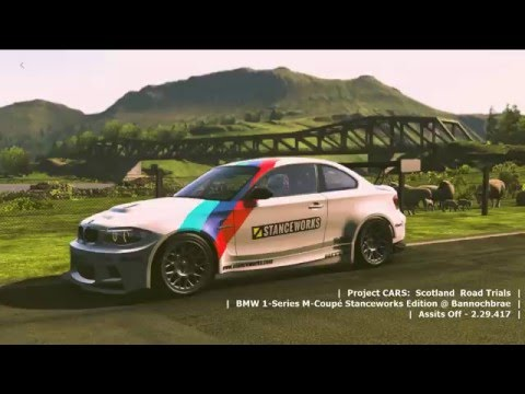 Project CARS Scotland Road Trials  BMW 1Series MCoup