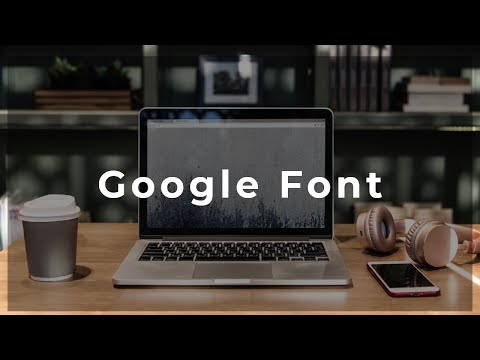 How to Add the Google Font in Adobe Muse