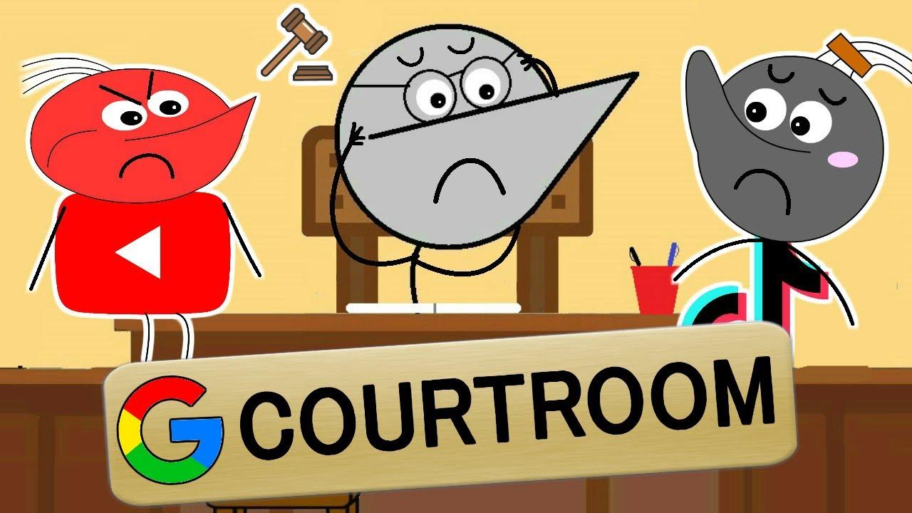 GOOGLE COURTROOM : YouTube Vs TikTok | Angry Prash