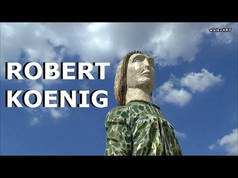 Robert Koenig, English sculptor in Nürtingen - ODYSSEY - Wächter der Erinnerung