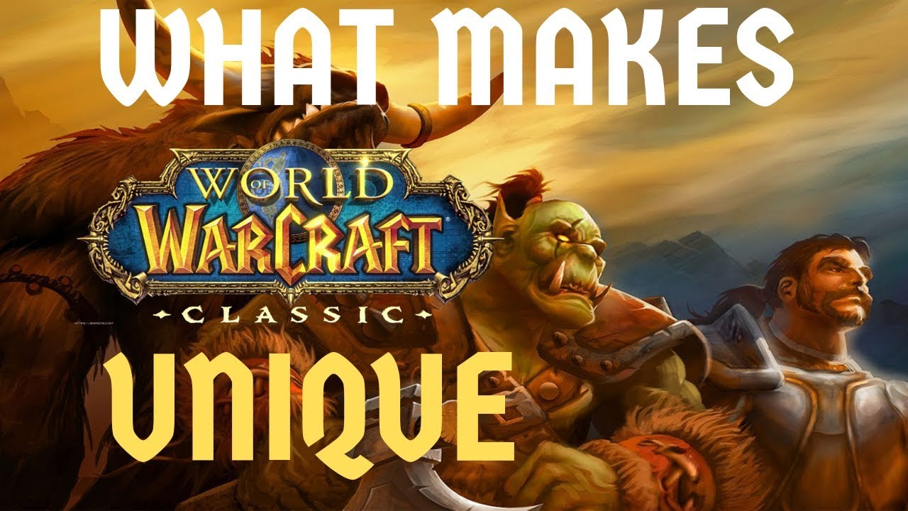 5 Reasons to Play WoW: CLASSIC | What Makes it UNIQUE vs  Retail