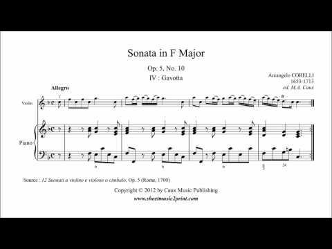 Corelli : Sonata Op. 5, No. 10 (4/5 : Gavotta) - ABRSM Violin Grade 3 A2