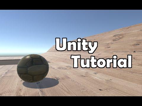 Unity 5 Tutorial - Make a Ball Roll (easy)
