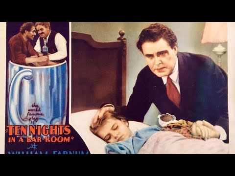 ❤️1931 Pre-Code MOVING Melodrama~Depression Era Classic Movie about Prohibition Black and White TCM