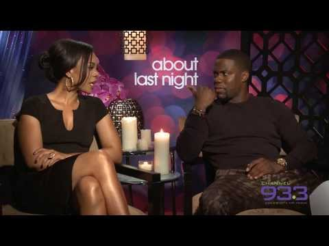 Dallis interviews Kevin Hart and Regina Hall from About Last Night