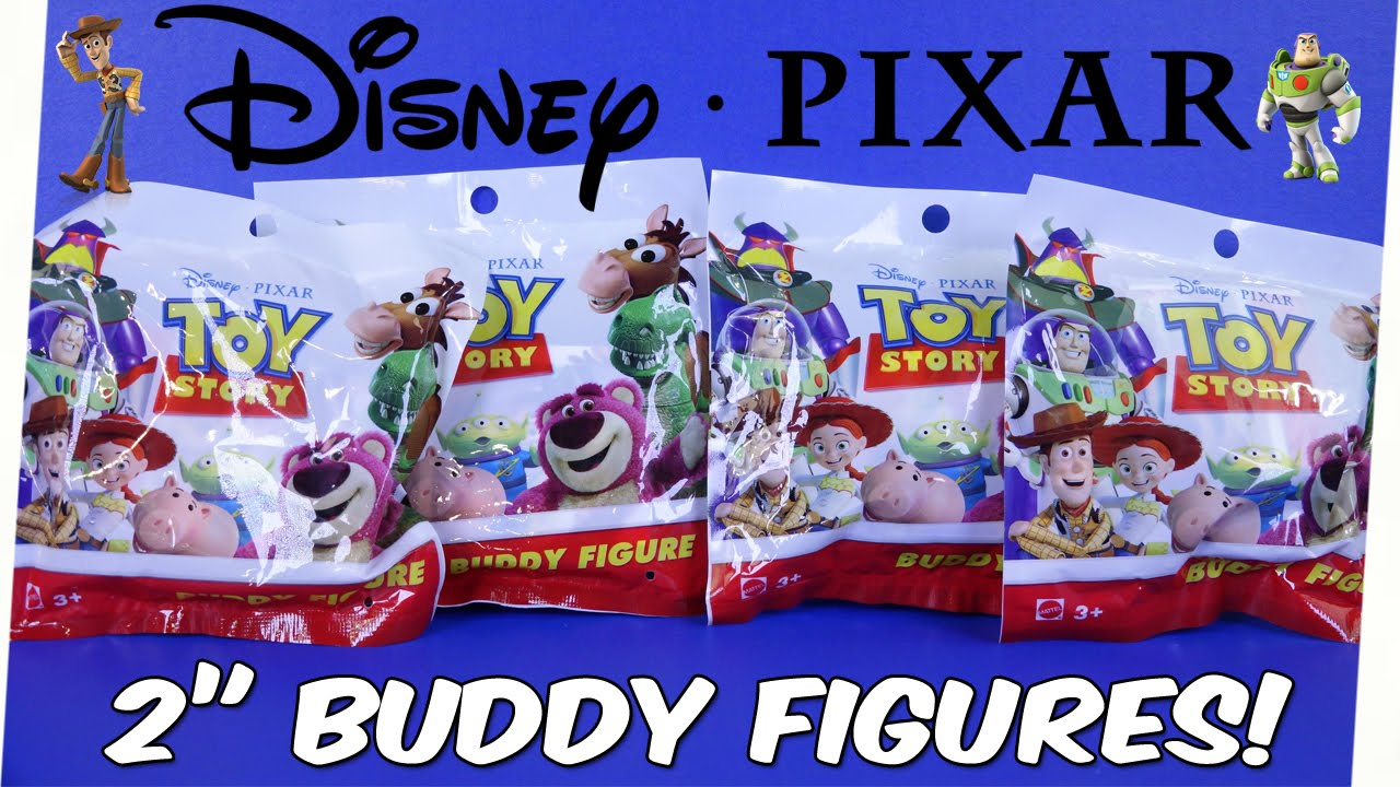 Disney Pixar Toy Story The Single 2 Quot Buddy Figures