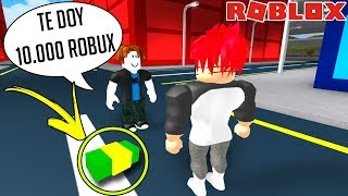 SUBSCRIBER SPENDS 10,000 ROBUX in MY ROBLOX GAME