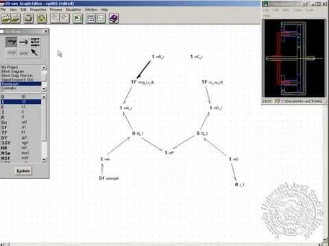 Epicyclic gear kinematics model by bond graph