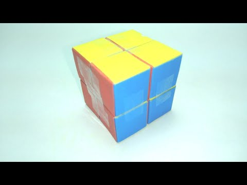 How To Make A Paper INFINITY CUBE- Origami Cube