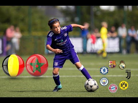 Rayane Bounida ► MOROCCO Or BELGIUM ? ● Futur Football Star ● All Skills And Goals