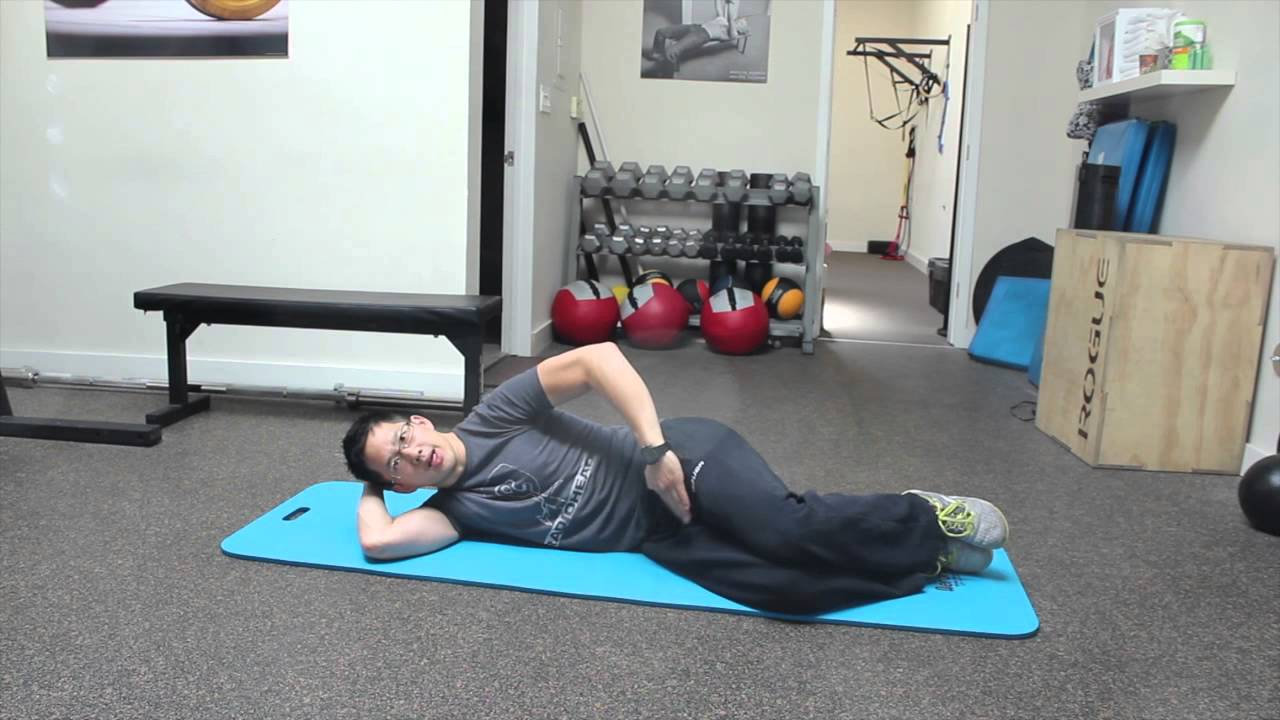 Hips Hurt Side Sleeping? How To Wake Up The Right Muscles So You Can Get To  Sleep  Youtube