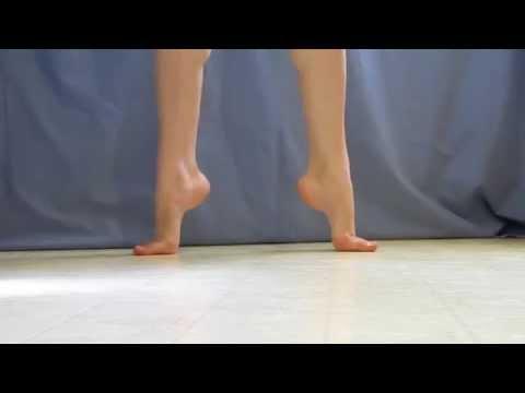 My Barefoot Demi Pointe Work 2010