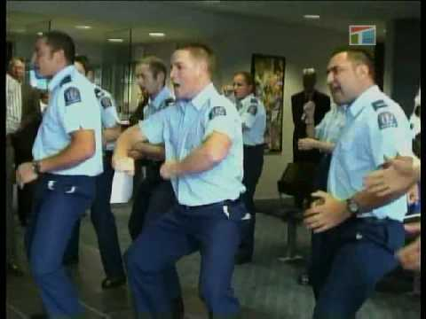 Haka by NZ Police
