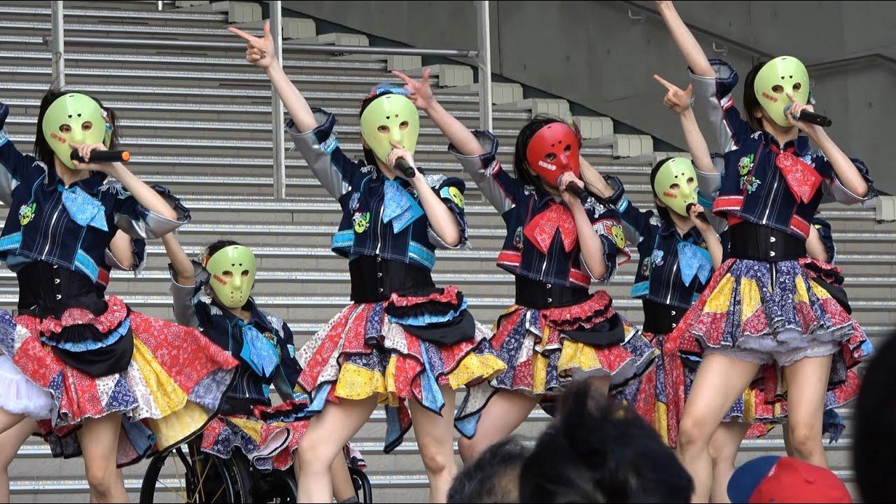 2021/6/12 仮面女子 「MASK A  RAID」発売記念イベント ダイバーシティ東京プラザフェスティバル広場