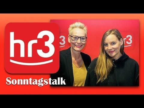 Judith Holofernes im hr3 Sonntagstalk mit Bärbel Schäfer