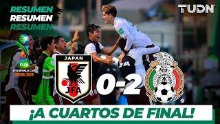 Resumen y goles | Japón 0 - 2 México | Mundial Brasil Sub-17 - Octavos | TUDN
