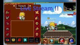 Ninja School Online - GTC muộn với các trùm sv1 , bgh1st với playgirl ...