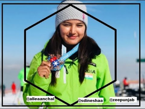 Direct with Dinesh Anchal Thakur, who gave India the 1st medal in skiing आंचल ठाकुर Part1