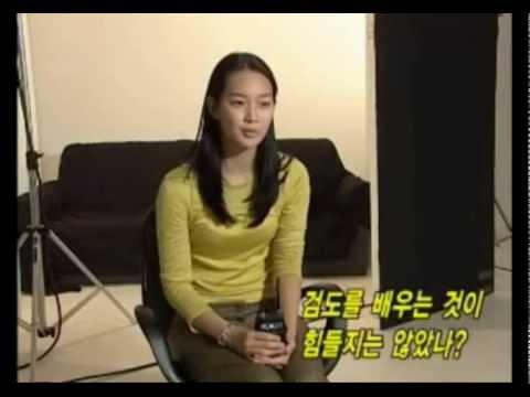 Volcano High ~ Shin Min Ah & Cast Interviews, Premiere (2001)