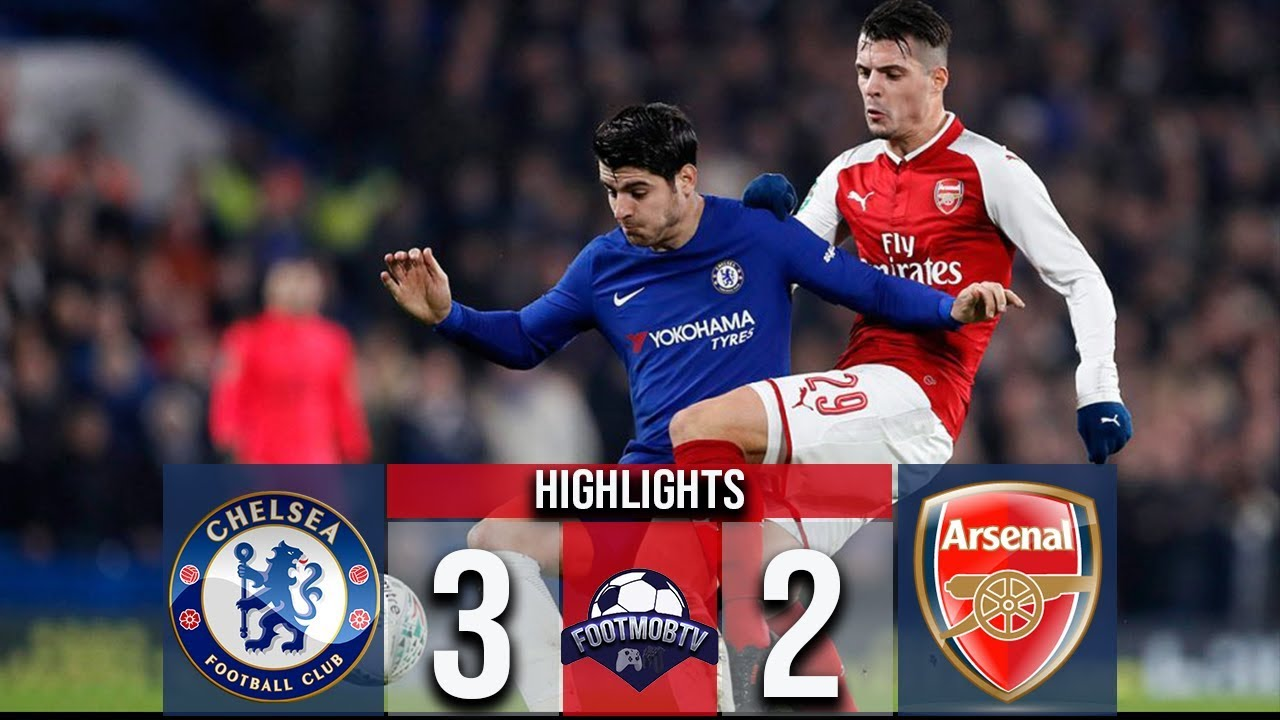 Chelsea vs Arsenal 3-2 All Goals & Highlights 2018 - YouTube
