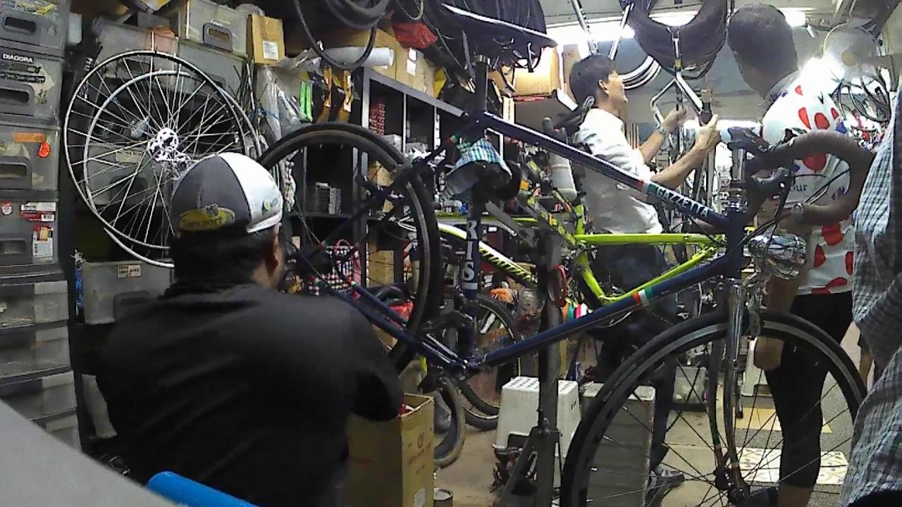 Installing Shimano 105 10 Speed Groupset Onto My Capris Steelbike