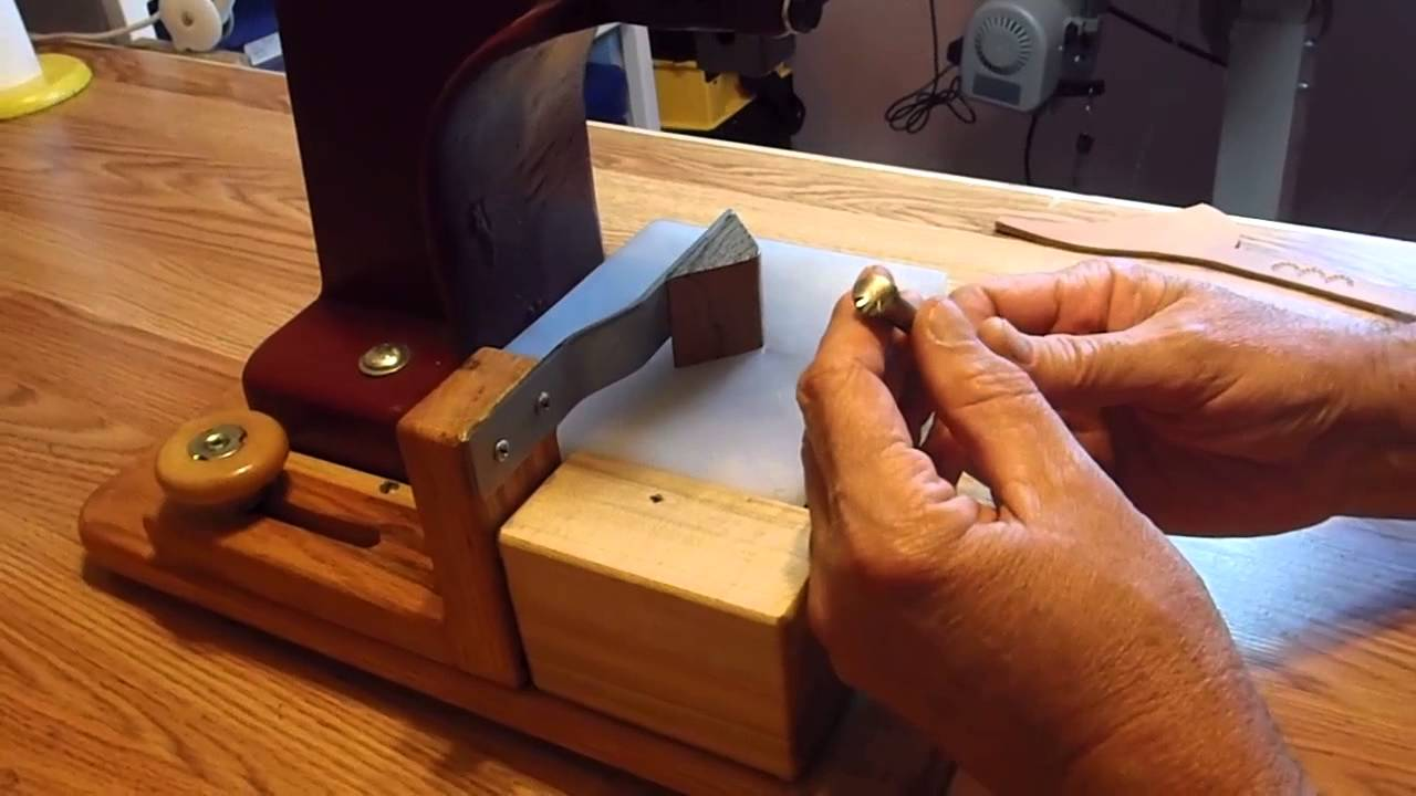Arbor Press Modifications and Stamp Demo by Michael Mays