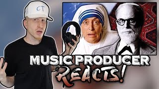 Music Producer Reacts to Mother Teresa vs Sigmund Freud (Epic Rap Battles of History)