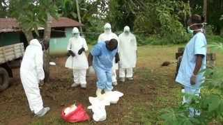 A TASTE OF REMOVING AN EBOLA DEAD BODY
