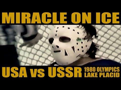 Miracle On Ice ✪ USA Vs USSR ✪ 1980 Lake Placid Olympics - Hockey   Full Highlights Montage