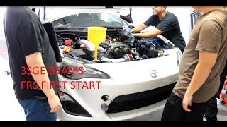 Scion FRS 3SGE Swap Install / First Start thumbnail