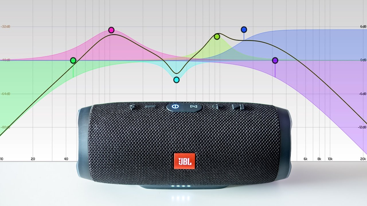 JBL Charge 3 - EQ tweaks to improve the sound