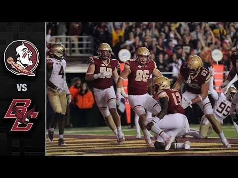 Florida State vs. Boston College Football Highlights (2017)