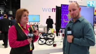 vivitar 360 cam micro cam and airdefender drone for 2016 interview ces 2016 poc network