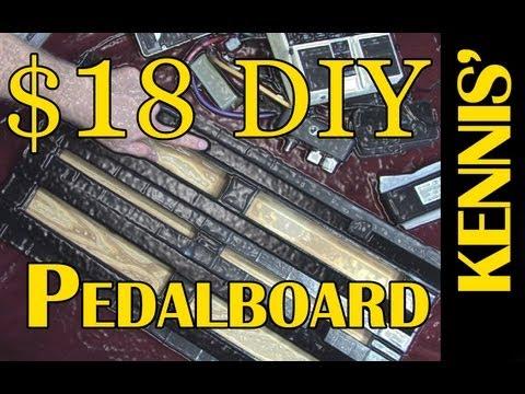 Kennis' $18 DIY Guitar Pedalboard (Modeled after the Pedaltrain PT-2)