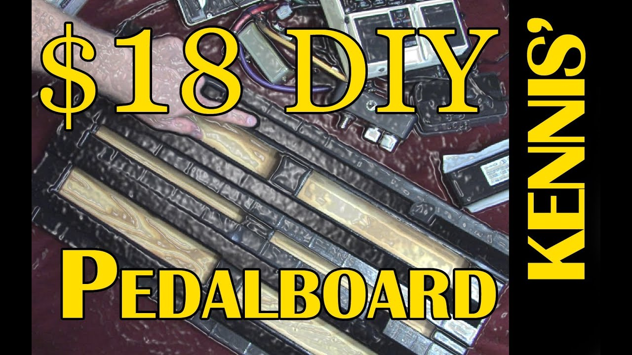how to make pedalboard from guitar case