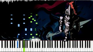 Undertale // Run! | LyricWulf Piano Tutorial on Synthesia // OST 32