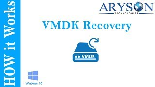 VMware Data Recovery to Repair/Restore Virtual Machine Data from VMDK File