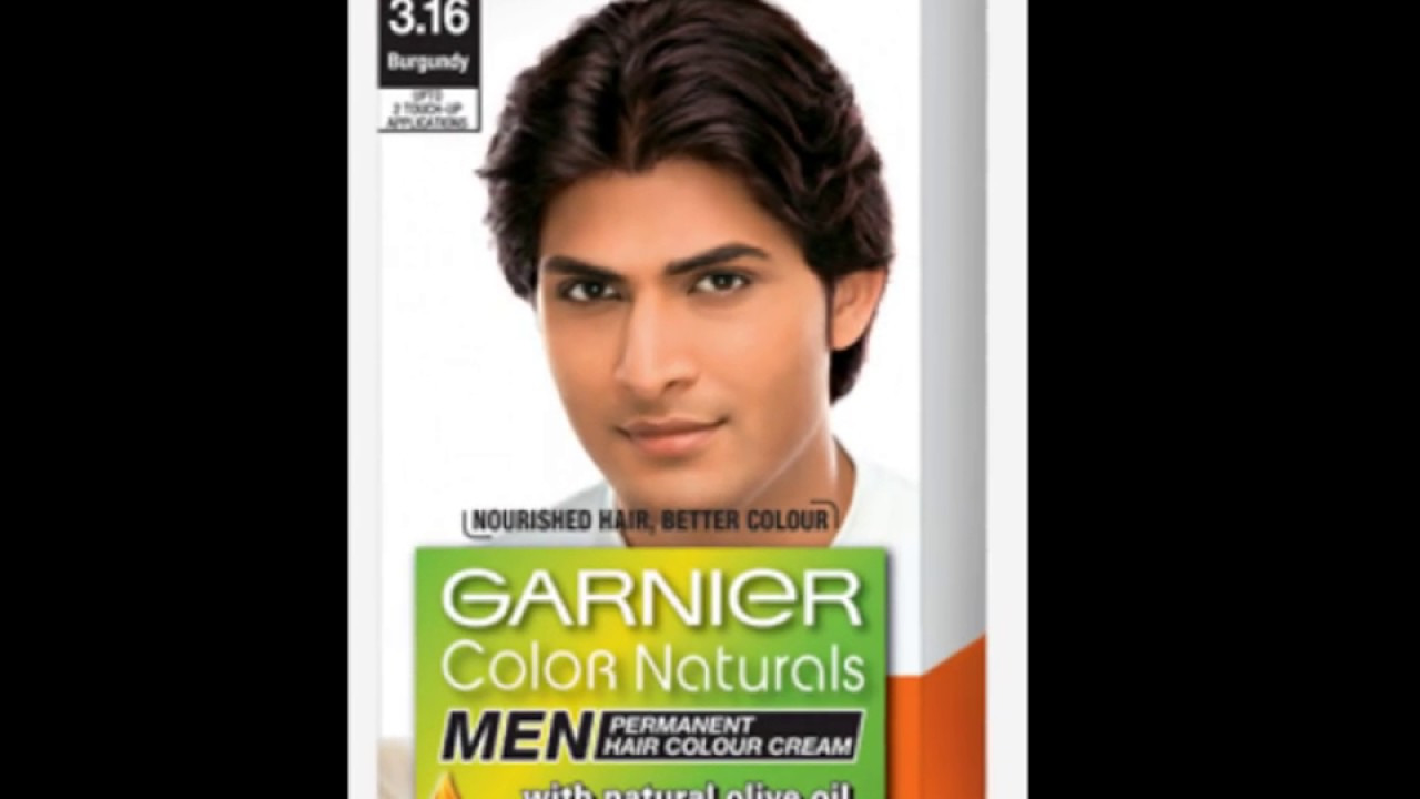 Garnier Color Naturals Hair Color Men Youtube