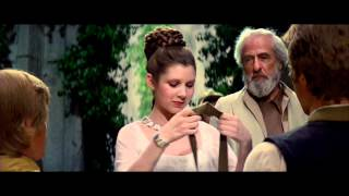 Star Wars IV: A new hope - Final Scene (The Throne Room) and End Title