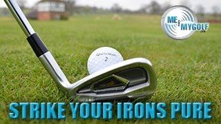 One of Meandmygolf's most viewed videos: STRIKE YOUR IRONS PURE - PART 1